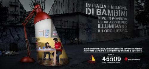 save the children campagna aladino